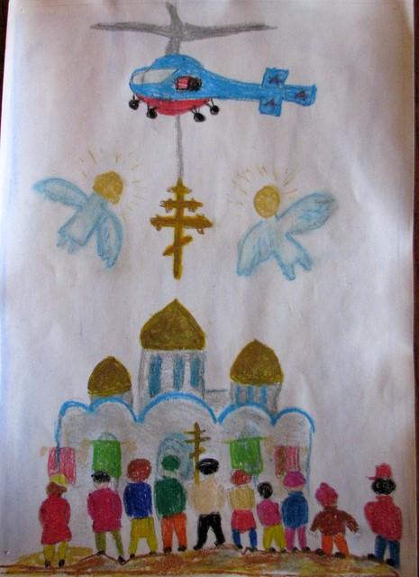 красота божьего мира рисунки: