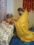 В престольный день в общине Архистратига Божия Михаила литургию совершил белгородский миссионер о. Максим