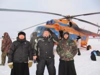 Миссионеры на севере Камчатки: Как Серафим выпал из саней. Или по льду реки Пенжины за молитвенным настроением.