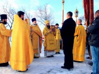Два престола декабря: храм св. Александра Невского и храм св. Андрея Первозванного. Фоторепортаж