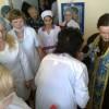 Освящение  гериатрической больницы