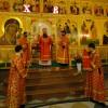 Кафедральный собор Петропавловска: Пасхальное богослужение. Большой фоторепортаж.