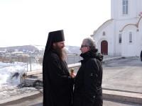 Встреча владыки Артемия и помощника президента РФ Олега Маркова