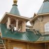 Село Никольское: строительство храма близится к завершению.Фоторепортаж
