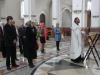 В соборе в честь Живоначальной Троицы состоялся молебен перед началом сдачи экзаменов