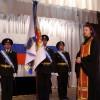 Совершено освящение нового боевого знамени авиационной базы