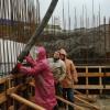 Один день на строительной площадке Кафедрального собора. ФОТОРЕПОРТАЖ