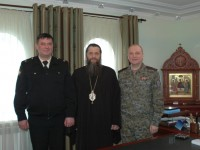Состоялась встреча епископа Артемия с начальником Пограничного управления ФСБ России по Камчатскому краю  контр-адмиралом Сергеем Щербаковым