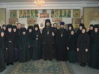 Праздничное богослужение в Свято-Казанском женском монастыре
