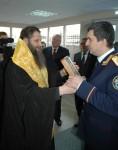 Епископ Артемий совершил освящение нового административного здания Следственного управления