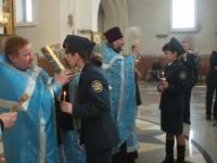 Благословение на службу Отечеству сотрудников УФСИН