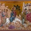 В праздник Входа Господня в Иерусалим епископ Артемий рукоположил во диакона монаха Нестора (Смирнова)