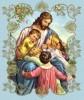 Дети, Библия и цветы