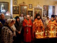 Престольный праздник в храме в честь иконы Божьей Матери «Нечаянная Радость»