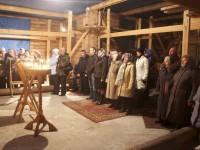 Первая Пасхальная литургия в истории поселка Авача
