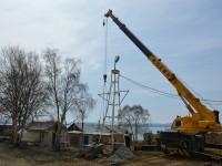 Продолжается строительство храма-памятника  в честь не вернувшихся из моря на территории Свято-Пантелеимонового монастыря