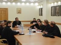 Епископ Артемий возглавил собрание руководителей епархиальных отделов