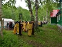 Престольный праздник в скиту мужского монастыря