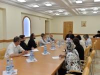 Состоялось совещание, посвященное празднованию 1025-летия Крещения Руси