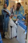 В праздник Успения Пресвятой Богородицы епископ Артемий рукоположил во иеромонаха иеродиакона Рафаила (Халитова)