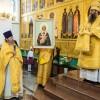 Протоиерей Геннадий Беловолов сослужил Владыке Артемию за воскресной Литургией