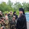 Посещение Епископом Артемием лагеря «Пересвет»