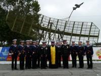 Иерей Дмитрий Бакуров благословил новобранцев, принявших присягу