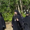 Праздник преподобного Сергия в Свято-Пантелеимоновом монастыре