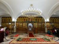 Великое освящение нижнего храма кафедрального собора Святой Живоначальной Троицы
