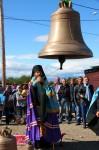 Освящение колоколов для строящегося храма в пос. Авача