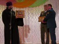 Иерей Дмитрий Бакуров поздравил войсковую часть 28103 с 55-летием со дня образования