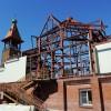 Новости со стройплощадки  храма Святой Живоначальной Троицы г. Елизово
