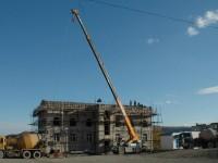 Завершен этап общестроительных работ на объекте «Воскресная школа и гостиничный комплекс»