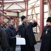 Епископ Артемий посетил строительную площадку  храма Святой Троицы г. Елизово