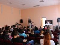 Встреча священника Максима Дентовского с учащимися Индустриального техникума г. Вилючинска