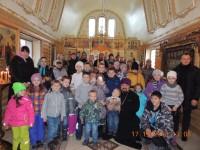 Ученики Воскресной школы города Елизово посетили храм Святителя Луки Крымского