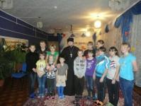 Усть-Камчатский детский дом  посетил настоятель храма Покрова Пресвятой Богородицы