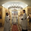 Служение епископа Артемия в день празднования Собора Архистратига Михаила и прочих Небесных Сил бесплотных в мужском монастыре