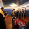 Торжественное освящение знамени наркополиции епископом Артемием