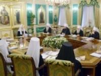 25-26 декабря 2013 года состоялось заседание Священного Синода Русской Православной Церкви