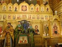 Престольный праздник в храме в честь святого благоверного князя  Александра Невского