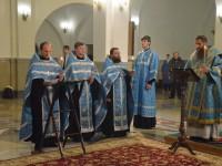 Епископ Артемий совершил Параклисис Божией Матери