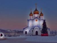 Праздничная Рождественская служба в Кафедральном Соборе г.Петропавловск-Камчатского