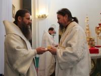 Рукоположение на Святочной неделе