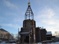 Новости со строительной площадки храма святителя Николая Чудотворца пгт. Палана