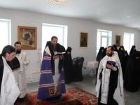 Епископ Артемий посетил Епархиальный Свято-Казанский женский монастырь