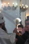 Епископ Петропавловский и Камчатский Артемий совершил Литургию и чин великого освящения воды