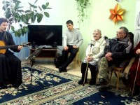 Святки на приходе прп. Серафима Саровского, г. Вилючинск