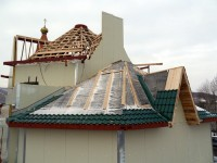 Новости со стройплощадки храма Святой Живоначальной Троицы города Елизово