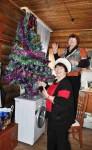 Приготовление к Рождеству Христову в селе Никольское на Командорах